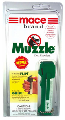 Muzzle Pepper Spray for Dogs