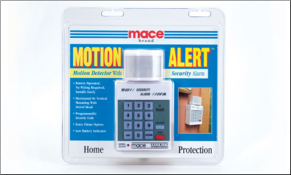 Mace® Motion Alert With Keypad