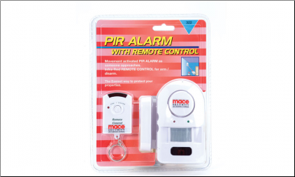 Mace® PIR Alarm With Remote