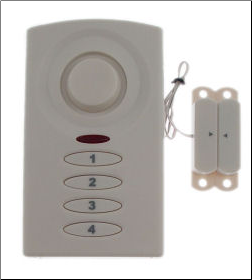 GE Magnetic Alarm/ Chime with Keypad